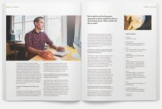 Offscreen Magazine — the people behind bits & pixels — Issue 1 #print #spread #layout #editorial #magazine
