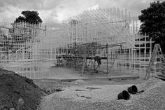 CJWHO ™ (Under Construction: Serpentine Gallery Pavilion |...) #installation #design #pavilion #architecture #art #serpentine