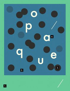 http://coloradore.tumblr.com/ #minimalism #poster #modernism