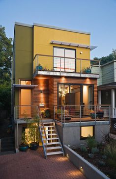 Green Home Building Pics from Portland & Seattle