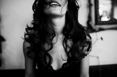 i like that #hair #photography #blackwhite #girl