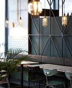 Bogdan Ciocodeica Create Fresh Decor for Kane Restaurant - InteriorZine