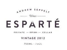 Esparté #rhodes #branding #design #wine #cj #logo