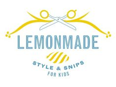 Dribbble - LEMONMADE / Style & Snips for Kids by Nicole LaFave #lemonmade #logo #nicole #lafave