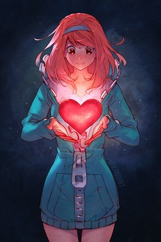 Open Your Heart by nakanoart