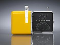 Merde! - Industrial design (Radio Cube, Marco Zanuso &... #design