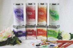 Teach_TinaFloersch_FullSet #packaging #color #tea