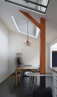 Old Carpentry Transformed into a Light-Filled Loft
