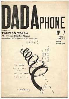 DADA-09.jpg (778×1110) #dada #dadaism #poster #typography