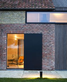 Former Barn House by Govaert & Vanhoutte Architects -#architecture, #house, #home, #decor,