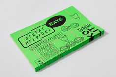 Print with fluorescent detail for Streat Helsinki designed by Kokomo & Moi #bag #tape #handdrawn #handset #sign #neon #display #icon #painter #illustration #poster #type #postcard #hand #brochure #typography