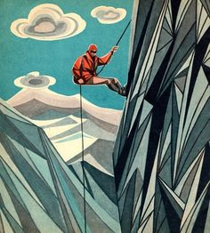 FFFFOUND! | 5082391825_bc4d825e63_o.jpg (1200×1335) #illustration #mountain