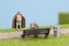 James Kape | Work: Parklife 2011 #miniature #identity #festival