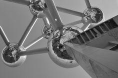 """""""Expo '58"""" Atomium_ Avenue de l'Atomium, 1020 Bruxelles, Belgien PHOTOGRAPHIE (C) [ catrin mackowski ]"""