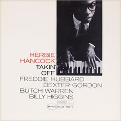 Herbie Hancock, Blue Note 4109 jazz album cover