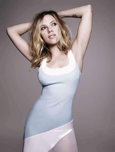 Scarlett Johansson for Elle Spain April 2013