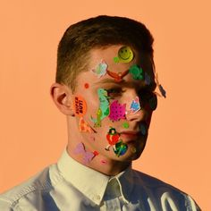 Photo by Hayden Davis #kitsch #color #peach #photography #portrait #sticker