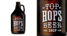 Brand Identity | Top Hops Beer Shop NYC | Helms Workshop #beer #design #graphic #label