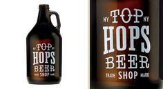 Brand Identity | Top Hops Beer Shop NYC | Helms Workshop