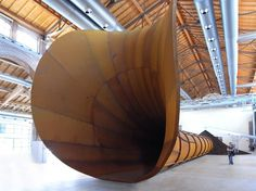 anish kapoor: dirty corner #sculpture #geometry #kapoor #anish