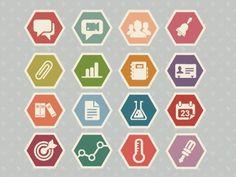 FFFFOUND! | Dribbble - Education icon set by Meghan Robichaud #logo #robichaud