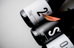 WINELIFE wine labels on Behance #leaf #typography #minimalism #wine #leaves