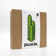 puxxle — Cactus #puxxle #yoyo #puzzle #pixel #art #games #cactus