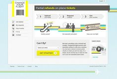 Change Your Flight | Picmedia #icon #yellow #web