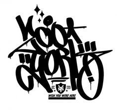 123Klan - Amour, violence, gloire et talent #graffiti #zoo #york #type #123klan #typography