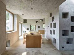 New Concrete House by Wespi de Meuron Romeo Architects 7