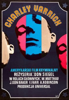 Where Danger Lives: 15 MORE Great Polish Posters for Amerykanski Crime Films! #polish #design #poster