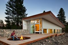 Sustainable Hill House