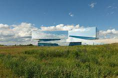 CJWHO ™ (holzer kobler complete the reflective palaon...) #design #germany #landscape #architecture #holzer #kobler