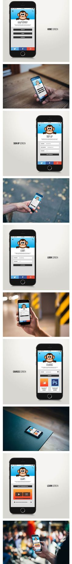 Edumonkey App by Donat Bali Papp