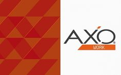 Axo Group on the Behance Network #logo #colour #brend