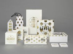 (via Maison Dandoy The Dieline ) #dots #polka