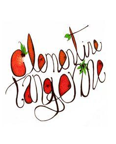 Citrus... www.anditisgood.com #ink #oranges #typography #design #fruit #art #drawing #citris