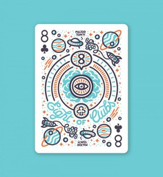 8 of Clubs – Playing Arts