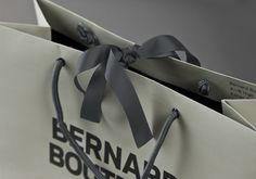 Bernard Boutique by Bunch. #packaging #bag #brand #store