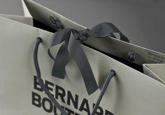 Bernard Boutique by Bunch. #packaging #bag #brand #store