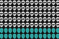 The Living & The Dead #infographics #illustration #minimilist