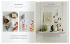 13.dieline_thymes_catalog.jpg #catalog #print #design #layout #editorial