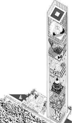 wrks: Xavier Calderon Architektur, The bicentennial towers #architecture