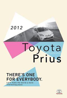 Tumblr #toyota #prius #graphic #poster