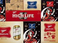 Miller High Life #packaging #branding