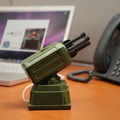 USB Rocket Launcher #office #gadget