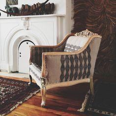 ariele alasko reupholstered chair