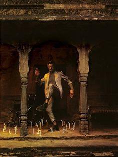 Patrick Petitjean | Paranaiv / Are Sundnes #candles #indialike #nathaniel #man #goldberg