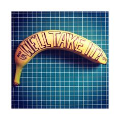 BananaDrawings_2 #banana #drawing #typo #typography