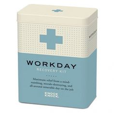 Recovery Kits #packaging #retro #recovery kit #knock knock #medical packaging